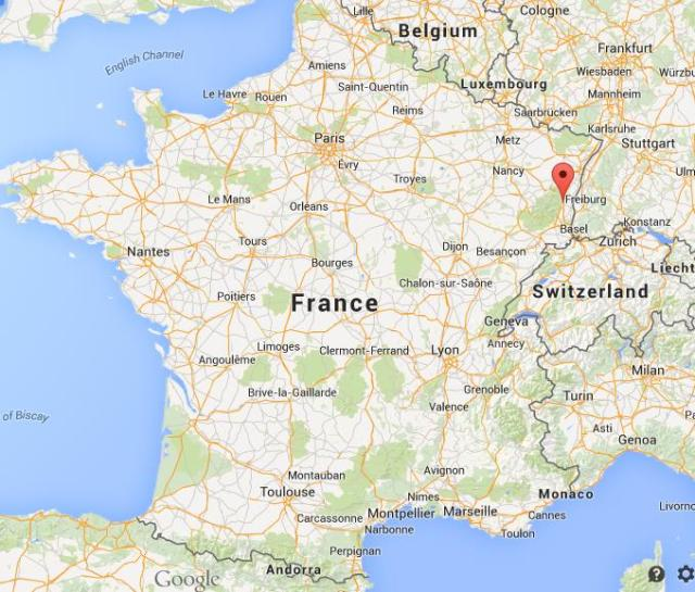 Where-is-Colmar-on-map-France